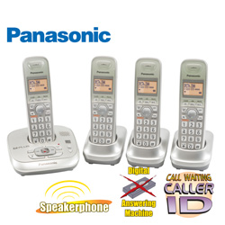 Panasonic 4-Handset Phone Sysytem  Model# KX-TG4024