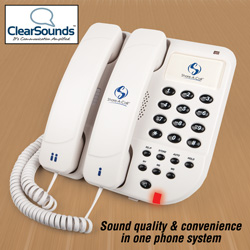 Share-A-Call Dual Handset Phone&nbsp;&nbsp;Model#&nbsp;CS22