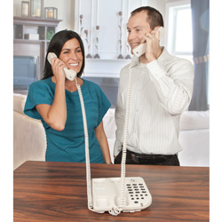 Share-A-Call Dual Handset Phone  Model# CS22