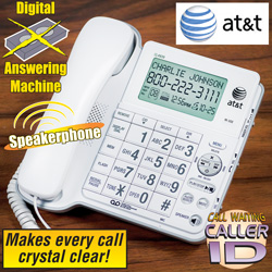ATT Corded Phone With Answering Machine  Model# CL4939