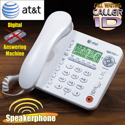 AT&amp;T Corded Phone with Answering System&nbsp;&nbsp;Model#&nbsp;1856