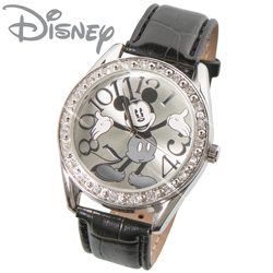 Mickey Mouse Silver Dial Watch  Model# MK1015