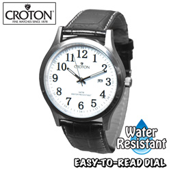 Croton Easy Read Dial Watch  Model# CN307396BSDW