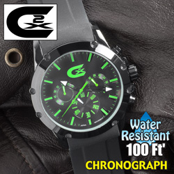 Croton chronograph watch  Model# CX328023BKGR