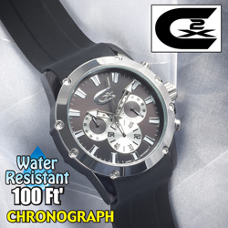 Croton chronograph watch  Model# CX328023SSBK