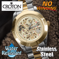 Croton Automatic Two-Tone  Model# CI331059TTSK
