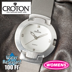 Womens Croton Mesh Watch  Model# SP299158