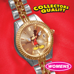 Womens 2-Tone Mickey Mouse Watch  Model# MCK340