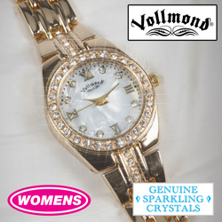 Womens Gold-Tone Vollmond Watch  Model# WLV60000YL