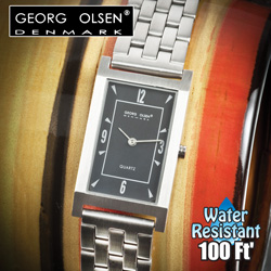 Georg Olsen Rectangle Watch&nbsp;&nbsp;Model#&nbsp;G1106A