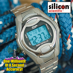 Silicon Scientific Digital Atomic Watch&nbsp;&nbsp;Model#&nbsp;BA-RCW95M