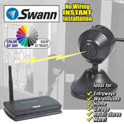 Swann Wireless Micro-Cam&nbsp;&nbsp;Model#&nbsp;SW232-M33-14120
