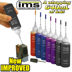 Universal Ink Kit&nbsp;&nbsp;Model#&nbsp;IMR-07260