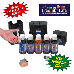 Universal Ink 4 Life Kit  Model# F14L-SXB-102