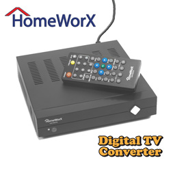 Digital Converter Box  Model# HW100STB