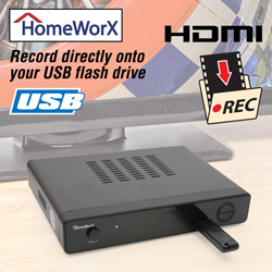 HomeWorx Digital Converter Box  Model# HW-150PVR