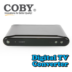 Coby Digital Converter Box  Model# DTV102