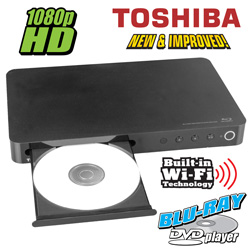 Toshiba Symbio Media Box/BluRay DVD Player  Model# BDX3400