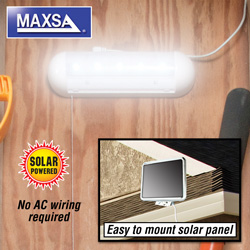 Solar LED Shed Light  Model# 40440