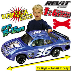 Rev-It Inflatable Remote Control Car