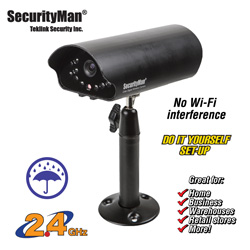 Wireless Indoor/Outdoor Camera  Model# SM-816DT