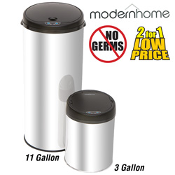 Motion Activated Trash Can Set  Model# 11GAL & 3GAL