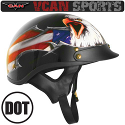 VCAN USA Eagle Cruiser Helmet&nbsp;&nbsp;Model#&nbsp;531USXL