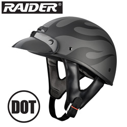 Raider Flame Shorty Helmet&nbsp;&nbsp;Model#&nbsp;26-721-SMALL