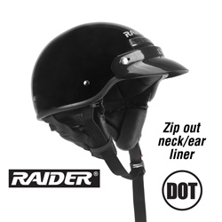Raider Deluxe 1/2 Helmet  Model# 26-618-15