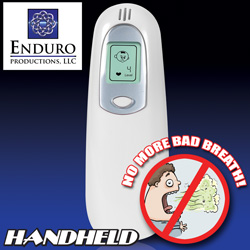 Hand Held Breath Tester