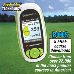 Celestron Course Pro Elite Golf GPS  Model# 44877