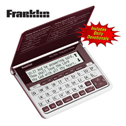 Franklin Electronic Bible  Model# KJV-570R