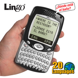 Lingo 20 Language Talking Translator  Model# TTV-5