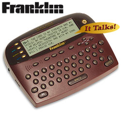 Franklin Electronic Talking Bible  Model# KJB-1840