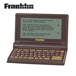 Franklin Parallel Bible  Model# BIB-475B