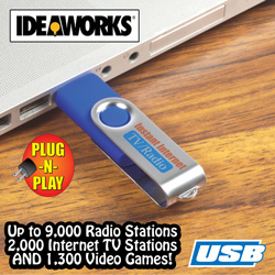 USB TV/Radio  Model# RET6168
