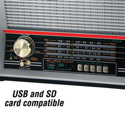 Retro Radio  Model# R-56US