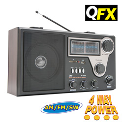 Quantum FX Radio  Model# R-18US