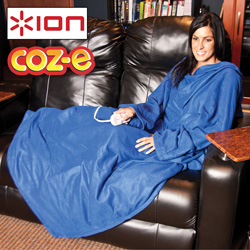 COZ-E Electric Blanket with Sleeves&nbsp;&nbsp;Model#&nbsp;iH01