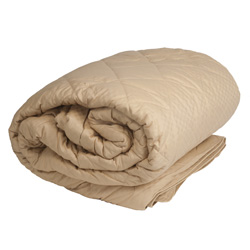 Full/Queen Down Alternative Blanket&nbsp;&nbsp;Model#&nbsp;90X90 MOJAVE TAN
