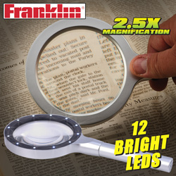 Franklin 12 LED Magnifier  Model# DLM-3012