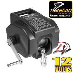 Tornado Tools 2000lb. 12V Winch&nbsp;&nbsp;Model#&nbsp;EW0201