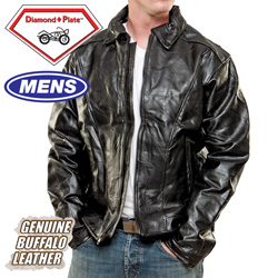 Leather Motorcycle Jacket  Model# GFMJEA