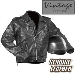 Mens Motorcycle Jacket  Model# 288010-XL