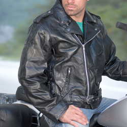 Mens Motorcycle Jacket  Model# 288010-2XL