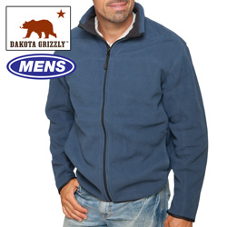 Dakota Grizzly Blue Fleece  Model# 7701G-024HL