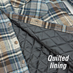 Heavyweight Flannel- Blue  Model# 43743-303HL