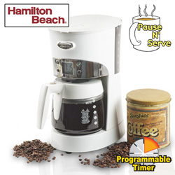 Hamilton Beach All Metal Coffee Maker&nbsp;&nbsp;Model#&nbsp;40111