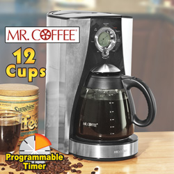 Mr. Coffee 12 Cup Coffee Maker&nbsp;&nbsp;Model#&nbsp;BVMC-LMX43