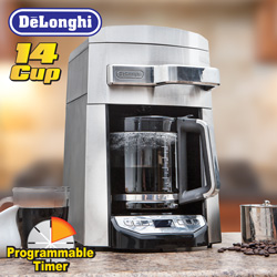 Delonghi 14 Cup Coffee Maker  Model# DCF6214T